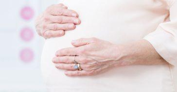 Späte Schwangerschaft
