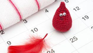 Wie ein Menstruationszyklus abläuft