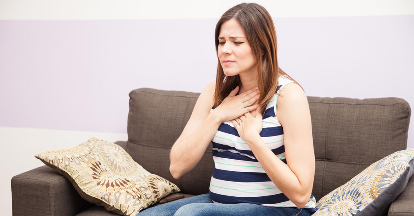 Abhilfe bei Sodbrennen in der Schwangerschaft