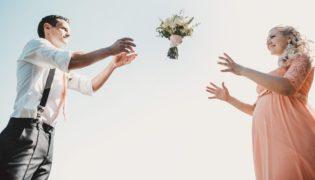 Hochzeit in der Schwangerschaft