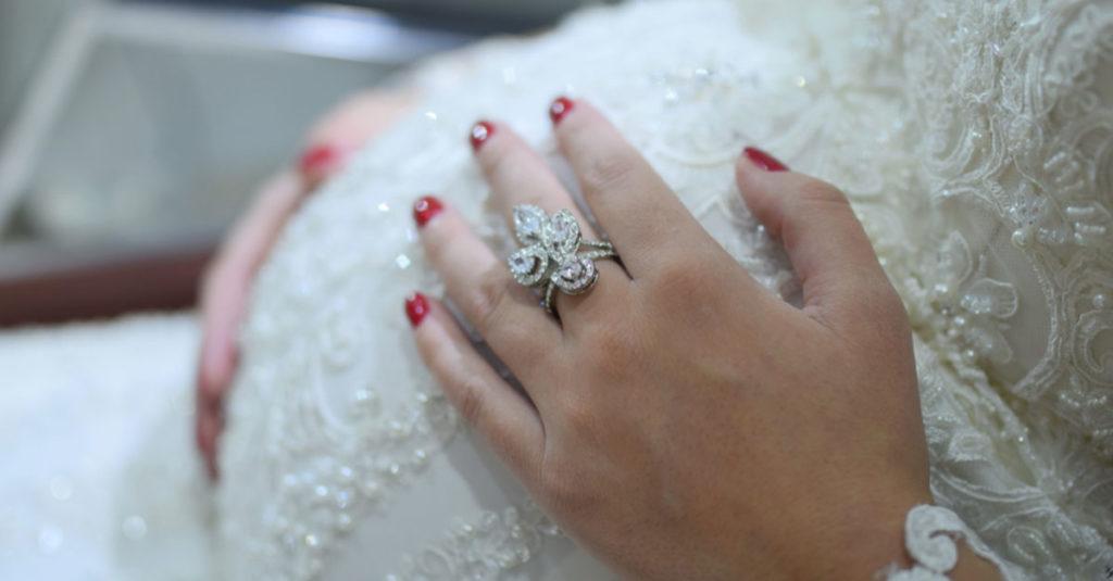 Schwangerschaft und Hochzeit