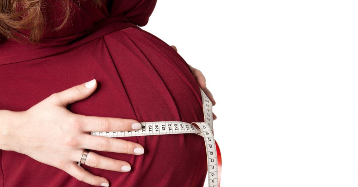 schwanger große größen