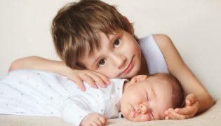 Großer Altersunterschied bei Geschwistern