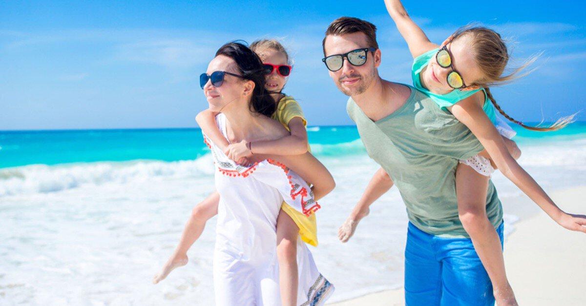 Urlaub mit Familie