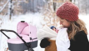 Der erste Winter mit Baby – So kommt Ihr Baby gut durch die kalte Zeit