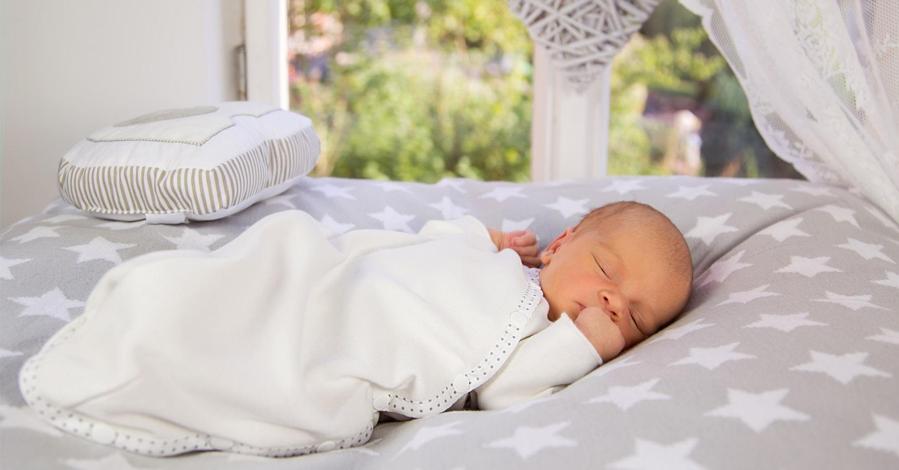 sicher und geborgen schlafen