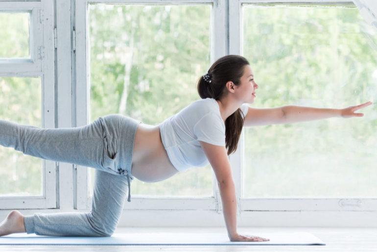 Sport und Yoga während der Schwangerschaft