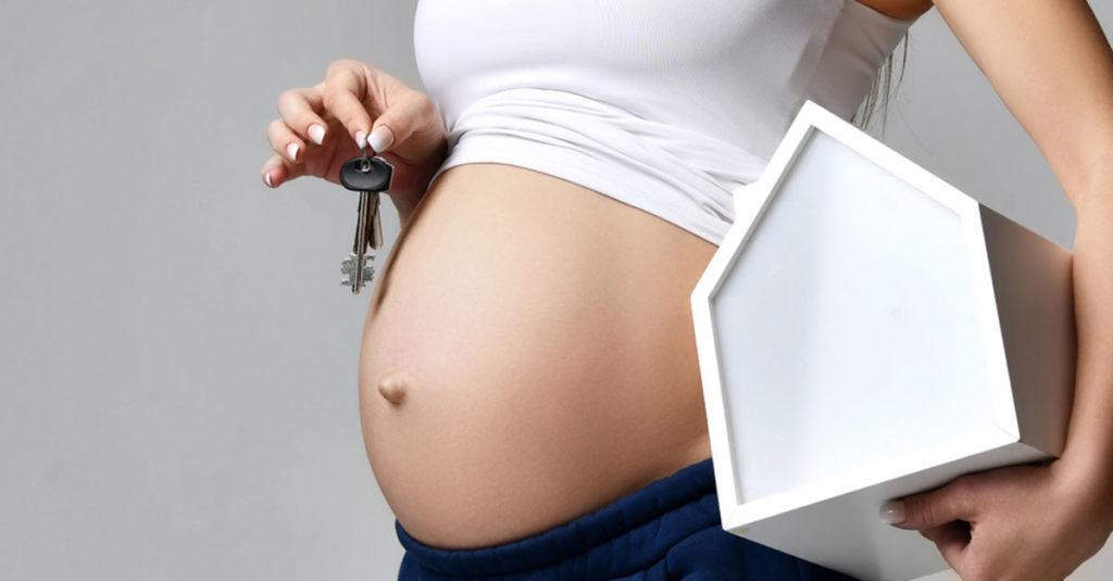 Hausbau während der Schwangerschaft