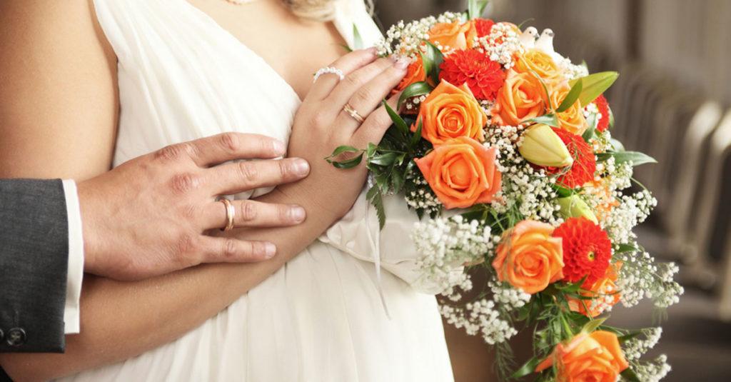 Hochzeit und Schwangerschaft