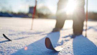 Langlauf: die beste Art von Skifahren in der Schwangerschaft