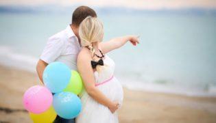 Flitterwochen während der Schwangerschaft