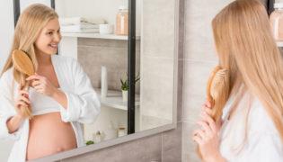 Haarpflege in der Schwangerschaft