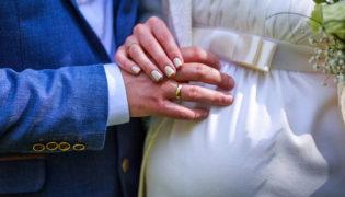 Heiraten während der Schwangerschaft