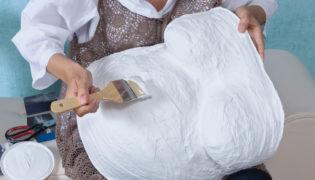 Anleitung für Gipsabdrücke des Babybauchs
