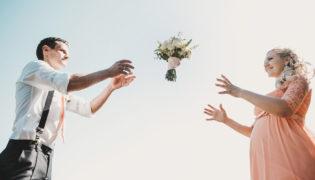 Schwanger zur Hochzeit - worauf muss ich achten?